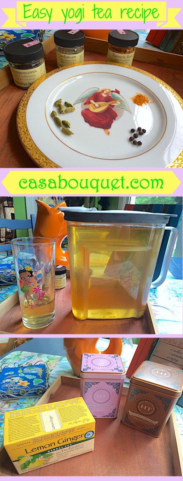 easy yogi tea recipe