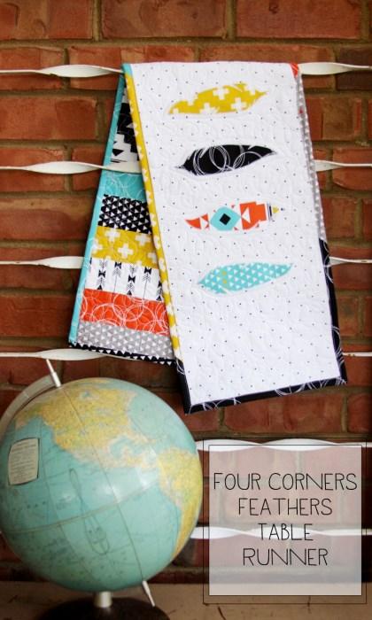 four corners table runner