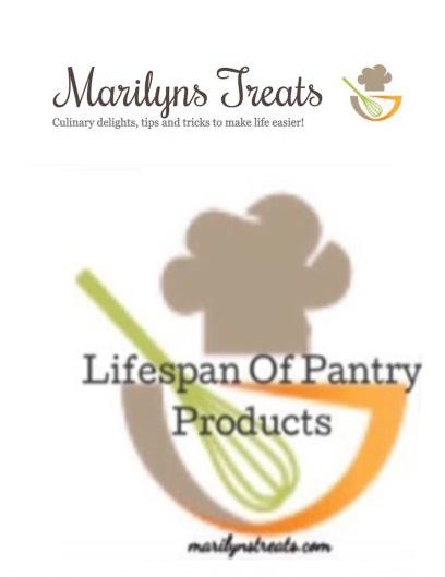 lifespan of a pantry product pin me