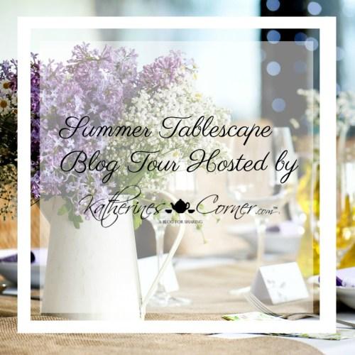 summer tablescape tour