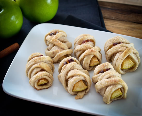 mummy apple pecan treat