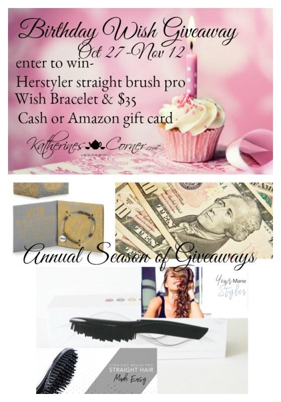 birthday wish giveaway