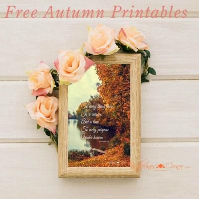 free autumn printables 2017