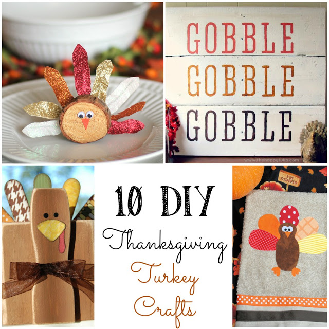 10 DIY Turkey Crafts
