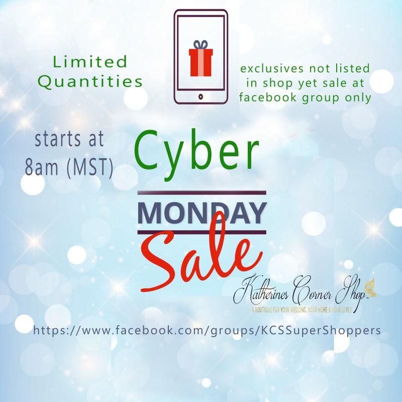 cyber monday at katherines corner