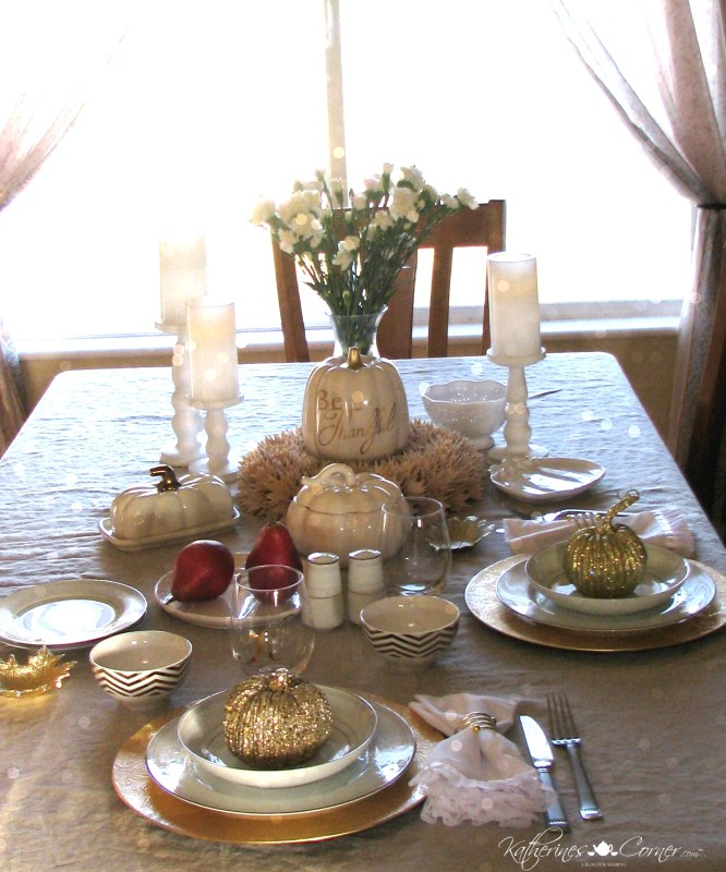 give thanks tablescape blog tour