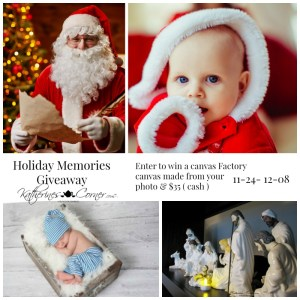 holiday memories giveaway
