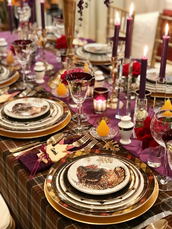 tablescape tour