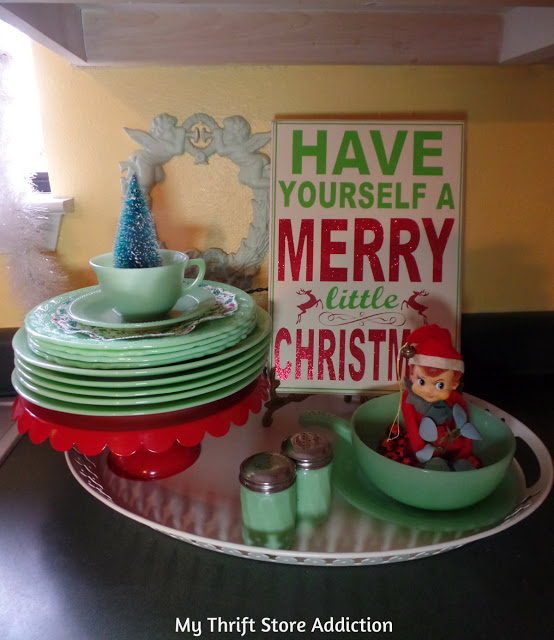 vintage kitchen christmas