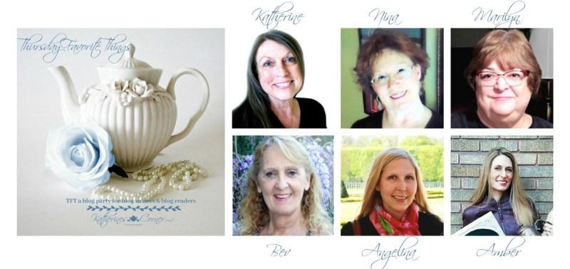 TFT blog party hostesses