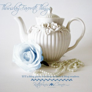 Thursday Favorite Thing blog link party