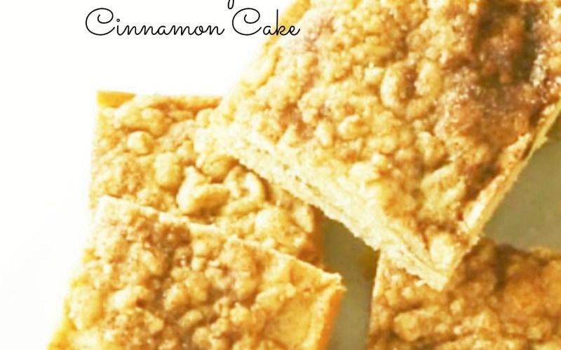 low sugar cinnamon cake