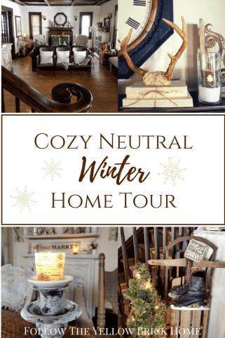 winter home tour