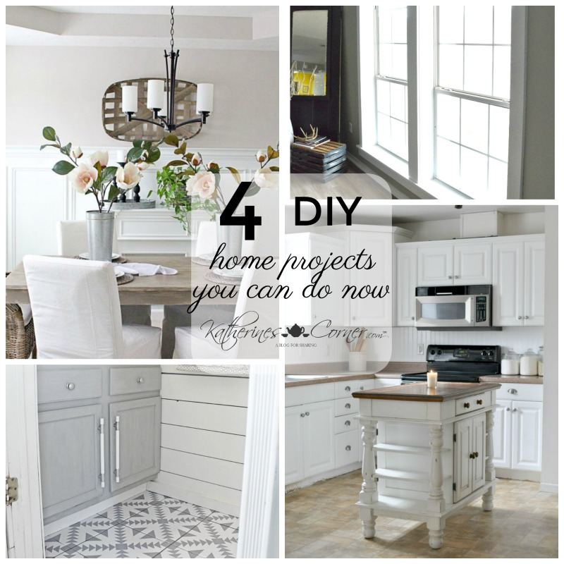 4 DIY Home Projects You Can Do Now
