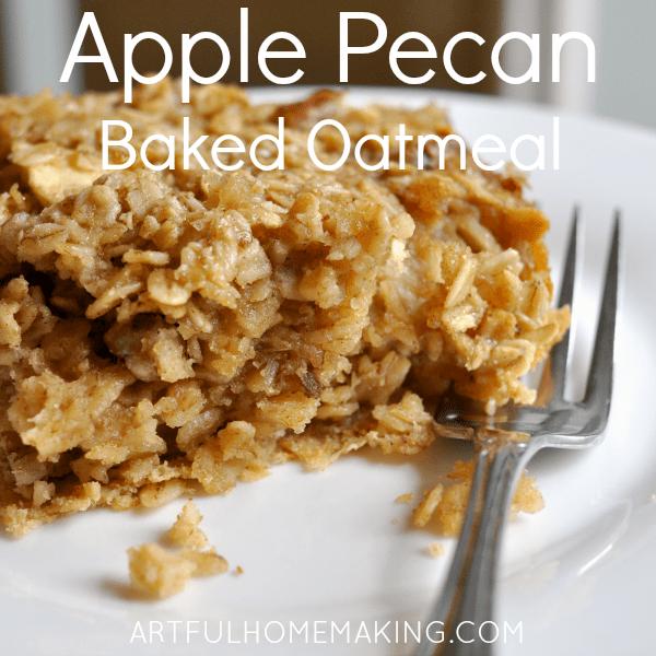 apple pecan breakfast bars