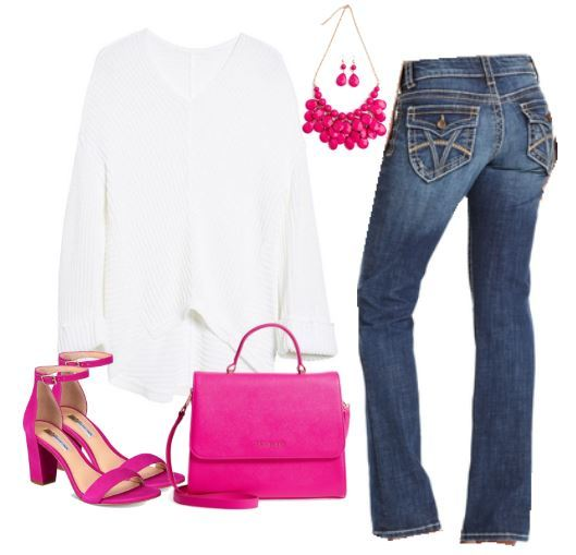 cozy pink outfit