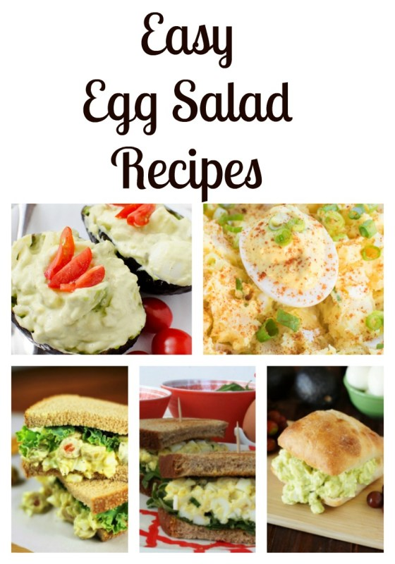 easy egg salad recipes