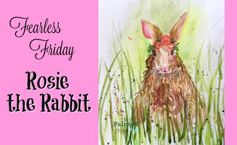 watercolor rabbit tutorial