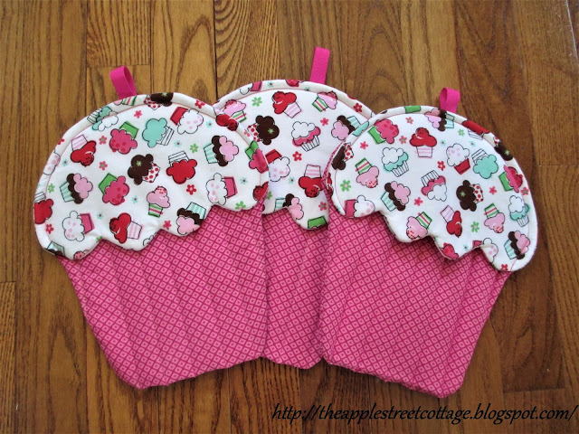 cupcake potholder tutorial