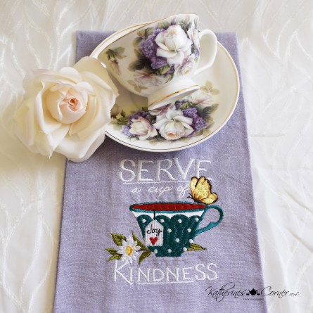 tea and roses serve a cup of kindness