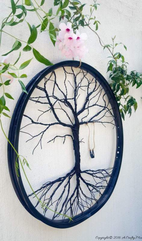 tree of life upcycle diy