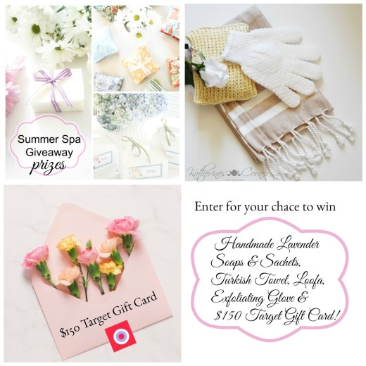 Summer Spa Giveaway Prizes