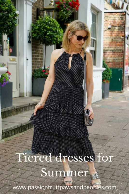 tiered dresses for summer
