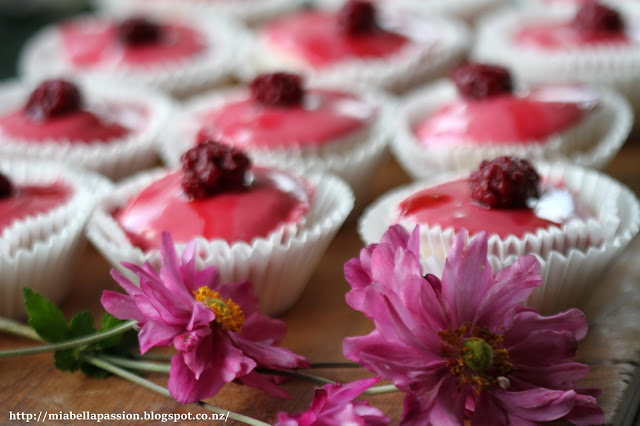 boysenberry cupcake recipe
