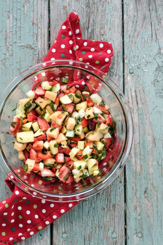three fruit salsa