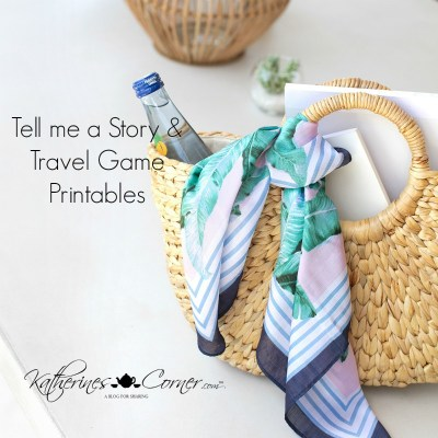 Tell Me A Story Travel Game Printable main