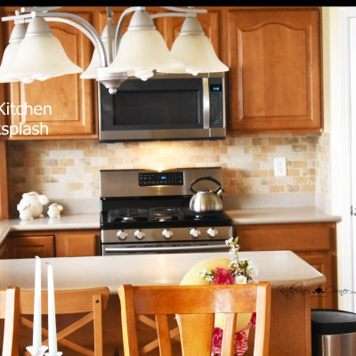 diy kitchen backsplash katherines corner