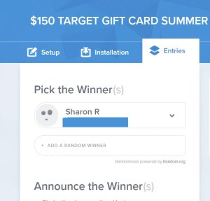 summer spa giveaway winner