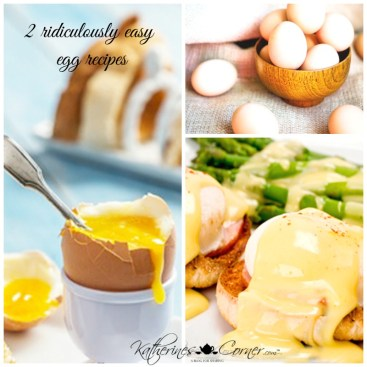 2 easy egg recipes