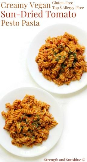Creamy-Vegan-Sun-Dried-Tomato-Pesto-Pasta-Gluten-free-Allergy-Free