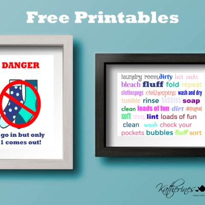 laundry day free printables from katherines corner