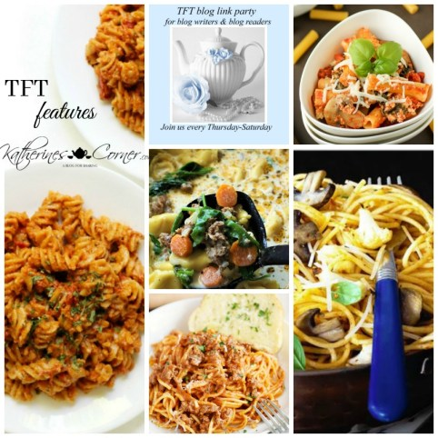 pasta and TFT party