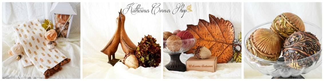 autumn decor on clearance sale