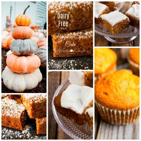 dairy free pumpkin spice cake