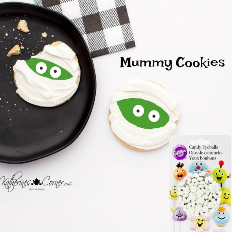 diy mummy cookies