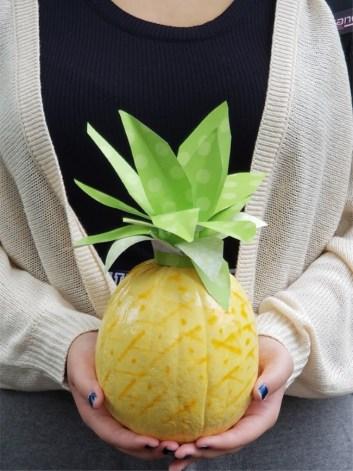 no carve pineapple pumpkin diy