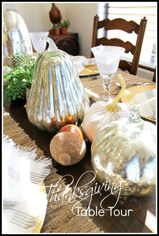 Thanksgiving Table Tour