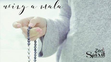 about meditation using a mala
