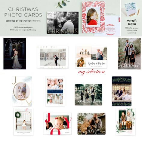 minted christmas photo cards review