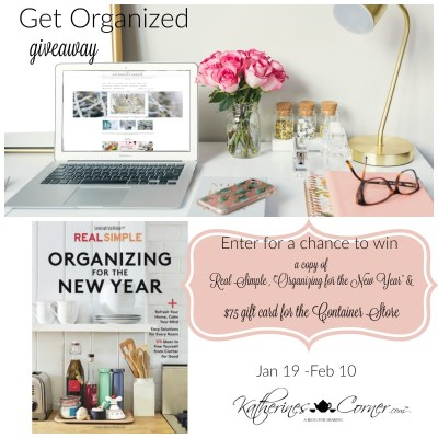 Get Organized Giveaway