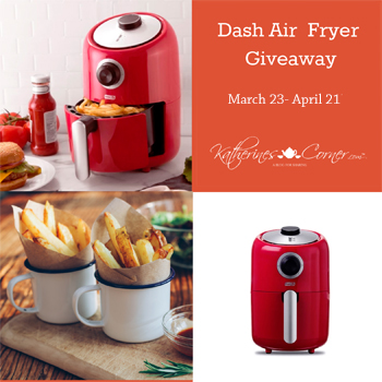 Dash Air Fryer Giveaway