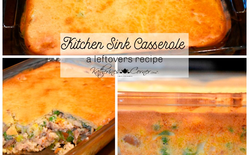 kitchen sink casserole made with leftover frozen vegetables katherines corner