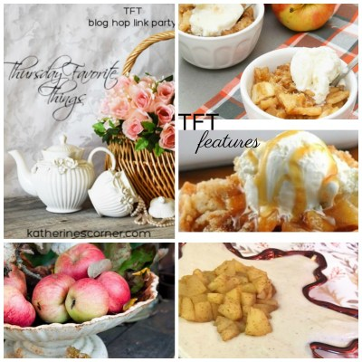 autumn apples features for TFT blog hop