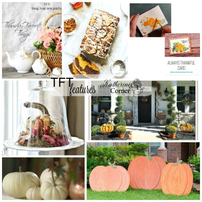 Pumpkins and TFT link party