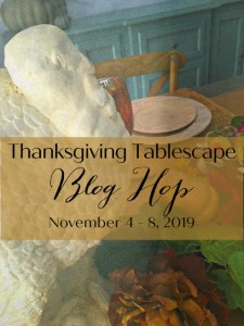 thanksgiving tablescape blog tour