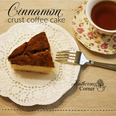 piece of cake on white plate katherines corner